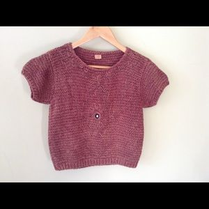 Vintage Crochet Crop Top